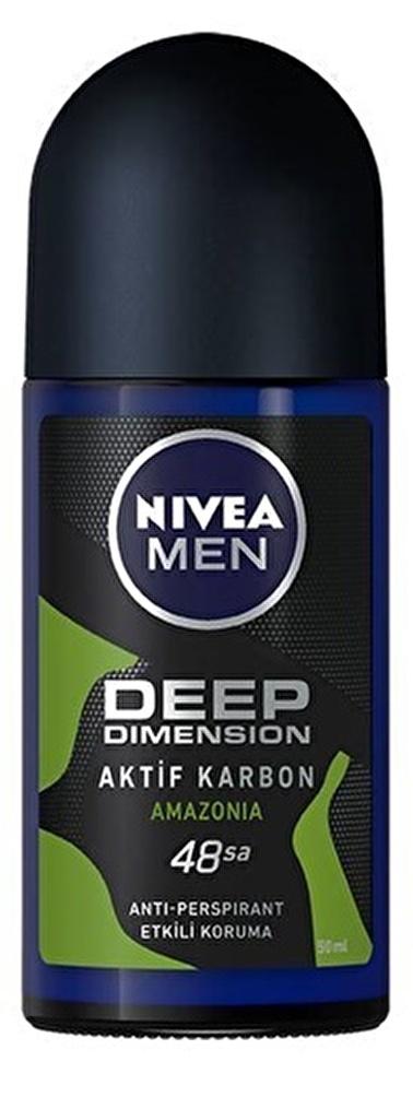 Nivea Nivea Men Deep Dimension Amazonia Deodorant Roll-On 50 ml Renksiz